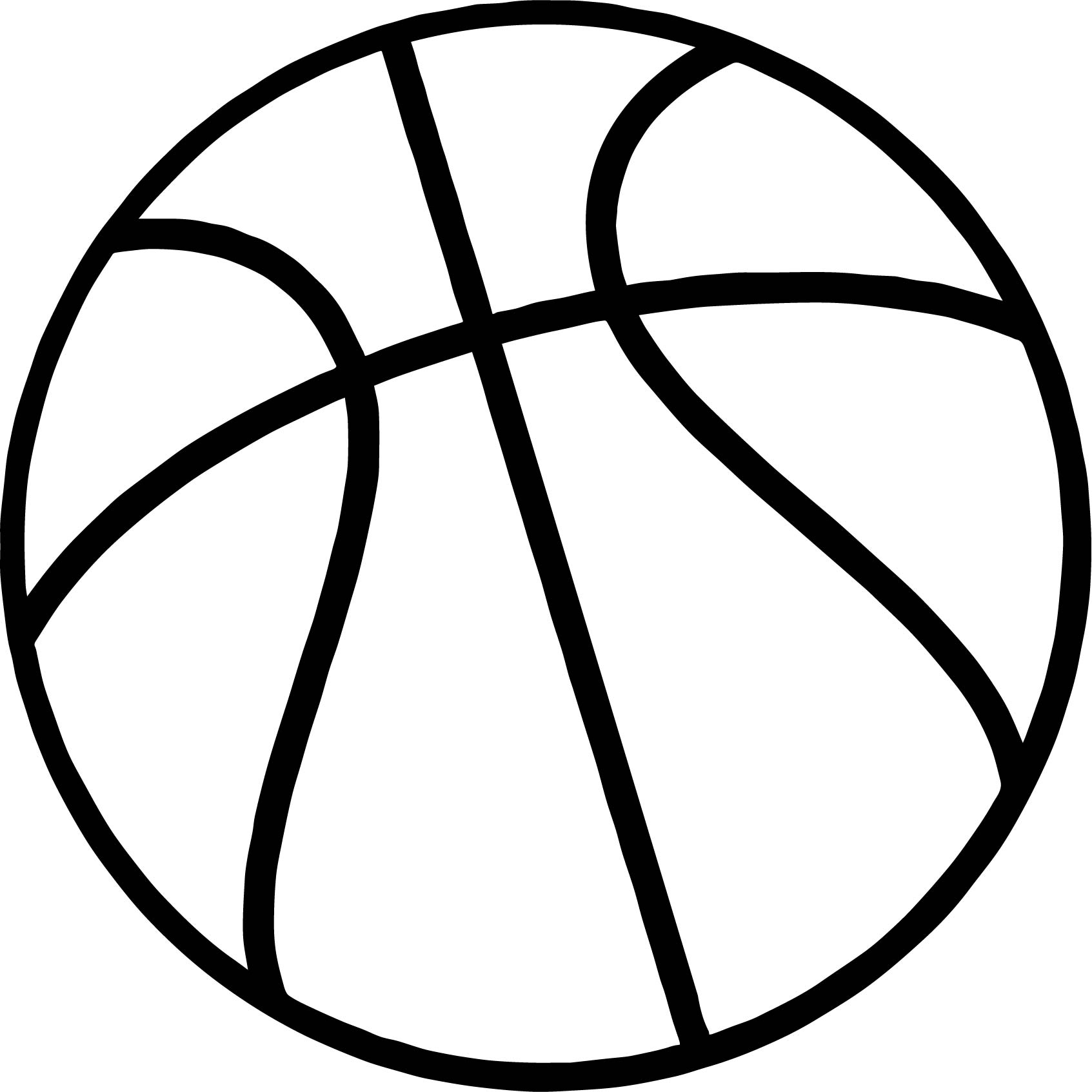 Coloring Pages Basketball : Just basketball ball coloring page wecoloringpage