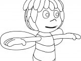 Just Maya Bee Coloring Page