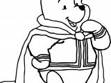 King Winnie The Pooh Coloring Page