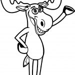 Moose On Calves Alaska And Maine Coloring Page