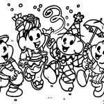 Musical Turma Da Monica Carnaval Coloring Page