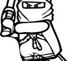 Ninjago Blade Coloring Page