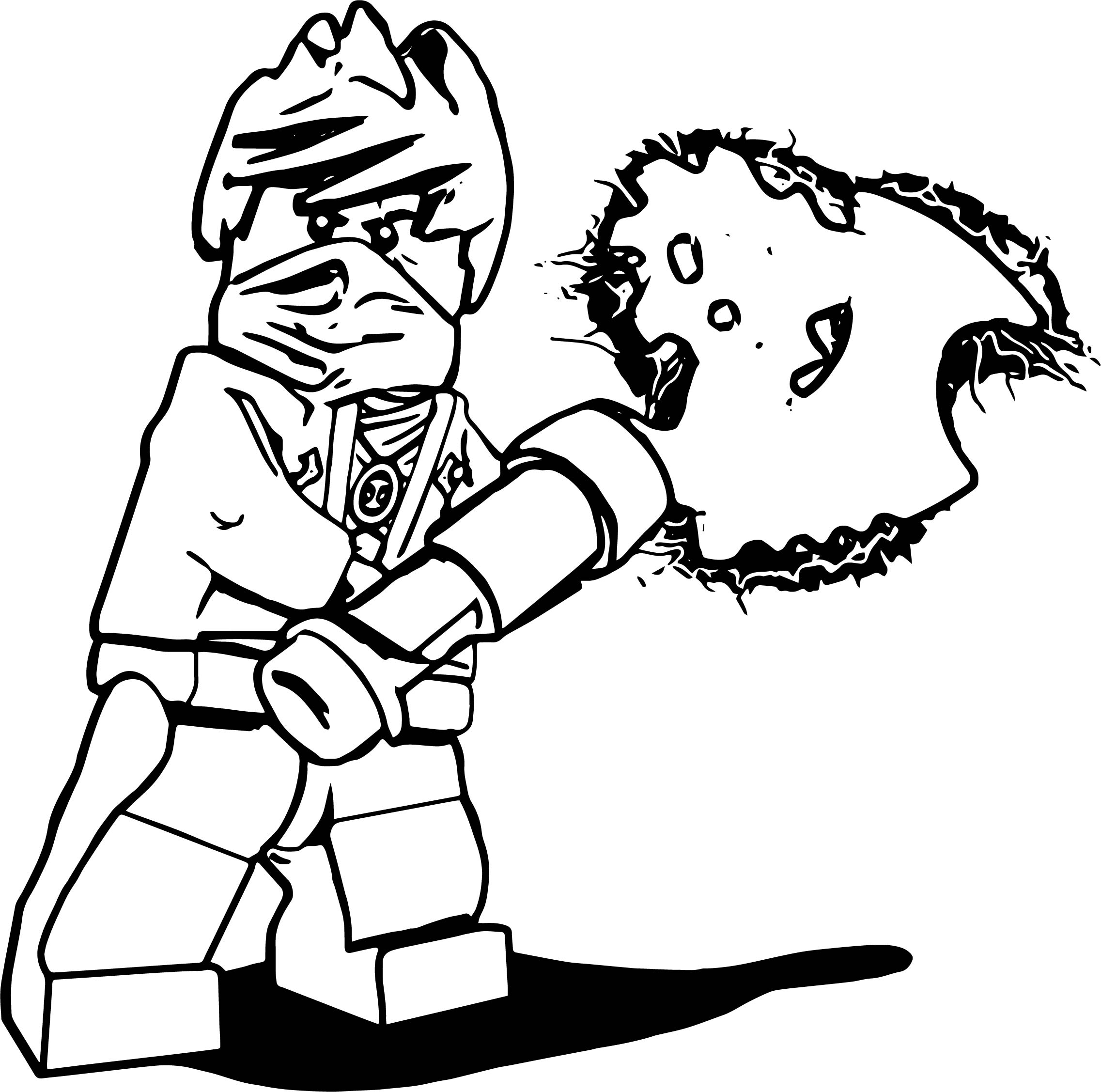 Coloring Page Of Bat And Ball likewise Free Coloring Pages Pac Man in addition Poseidon Coloring Page in addition Ninjago Kai Coloring Page furthermore Ausmalbilder Ninjago Drucken. on lego movie coloring pages