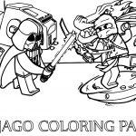 Ninjago War Coloring Pages