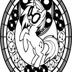 Pony Zecora Music Dj Dance Coloring Page