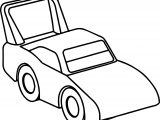 Race Toy Car Coloring Page