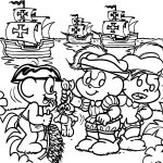 Ship Turma Da Monica Coloring Page