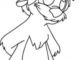 The Black Cauldron Gurgi Cute Coloring Page