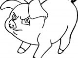 The Black Cauldron Henwen Pig Coloring Page