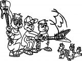 The Chipmunk Adventure Poster Coloring Page