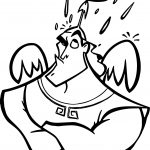 The Emperor New Groove Rain Disney Coloring Pages