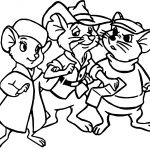 The Rescuers Mouse Coloring Pages