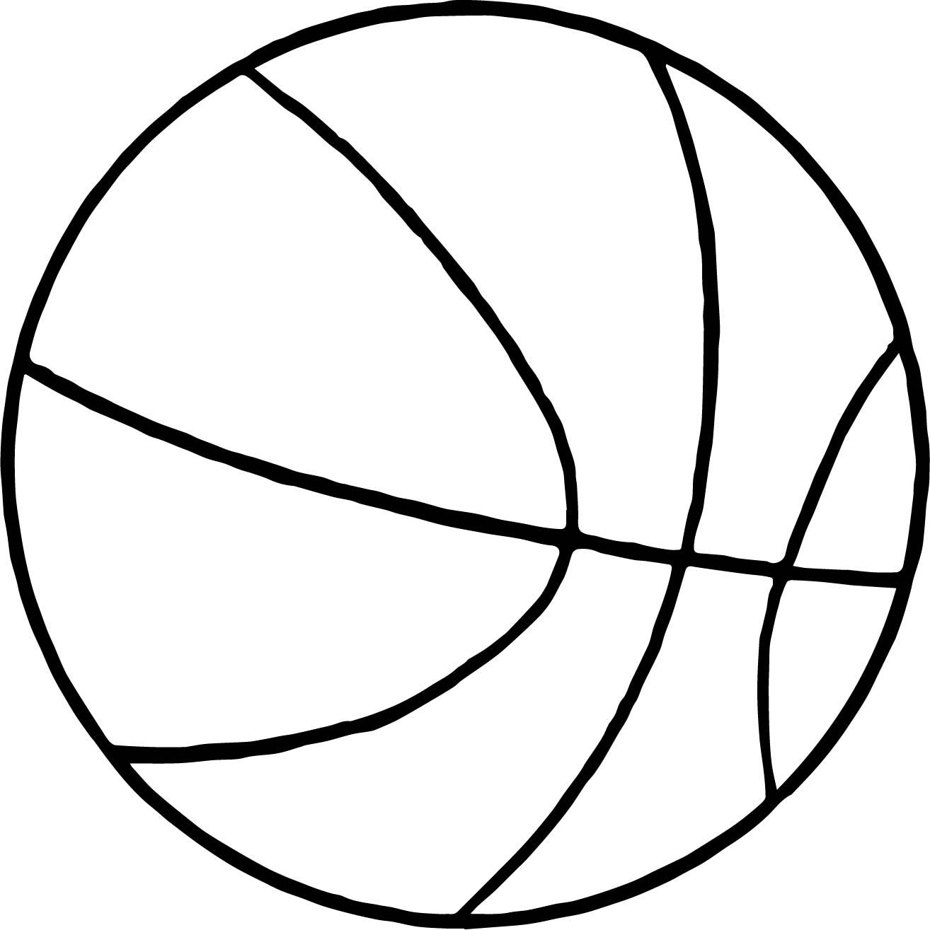 Basketball Net Coloring Pages