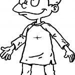 Tommy Pickles Rugrats All Grown Up Coloring Page