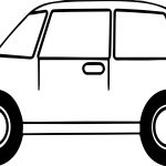Toy Car Basic Coloring Pages