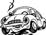 Toy Car Grease Coloring Page