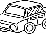 Toy Car Perspective Coloring Page