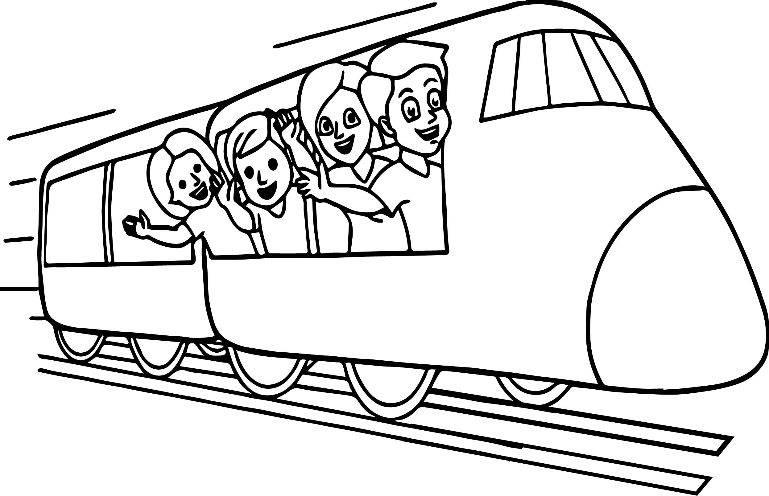 train metro coloring page wecoloringpage