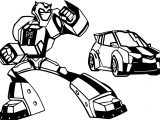 Transformers And Cars Coloring Page