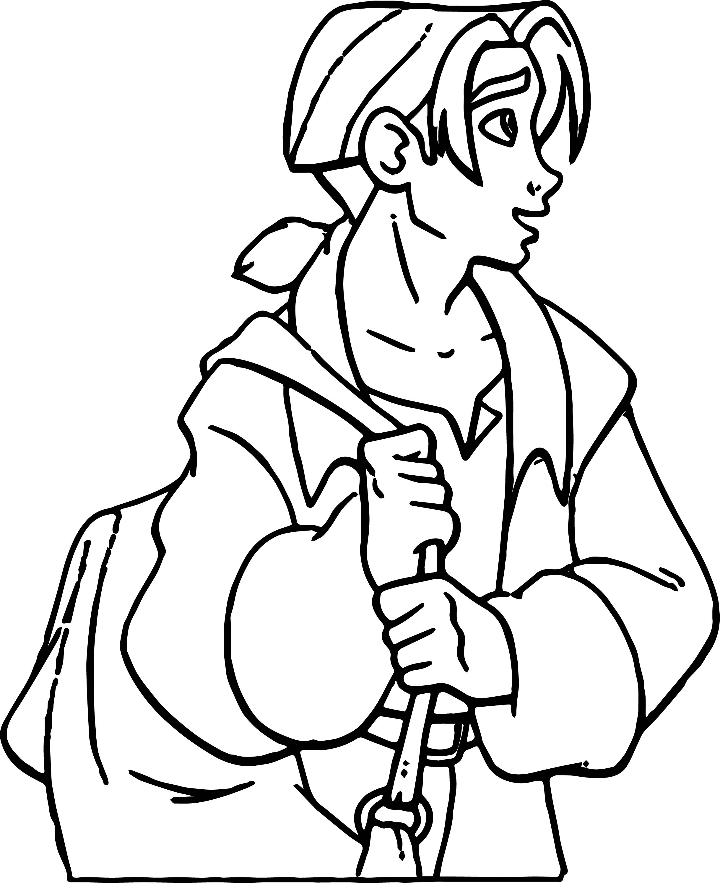 Treasure Planet Bag Coloring Pages