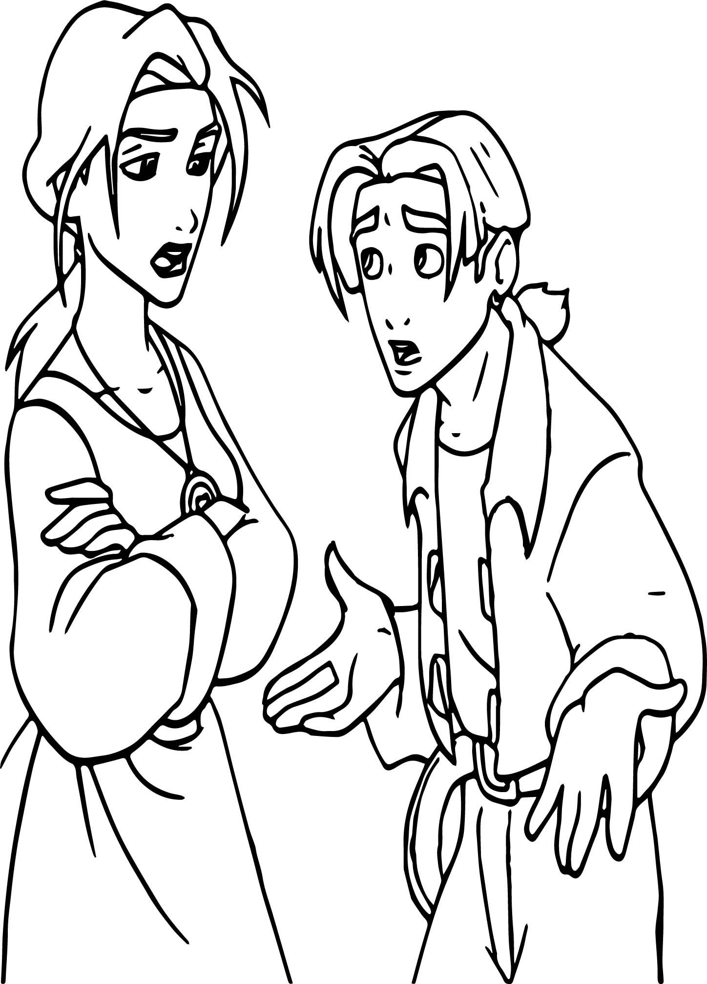 Treasure Planet What Happened Coloring Pages