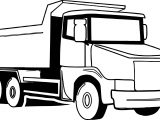 Truck Big Coloring Page