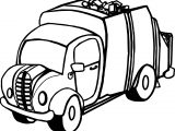 Truck-Garbage-Coloring-Page