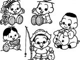 Turma Da Monica Class All Baby Character Coloring Page