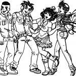 Turma Da Monica Jovem Image Girls Boys Coloring Page