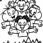 Turma Da Monica Paint Me Coloring Page
