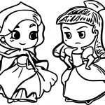 Two Anastasia Coloring Page