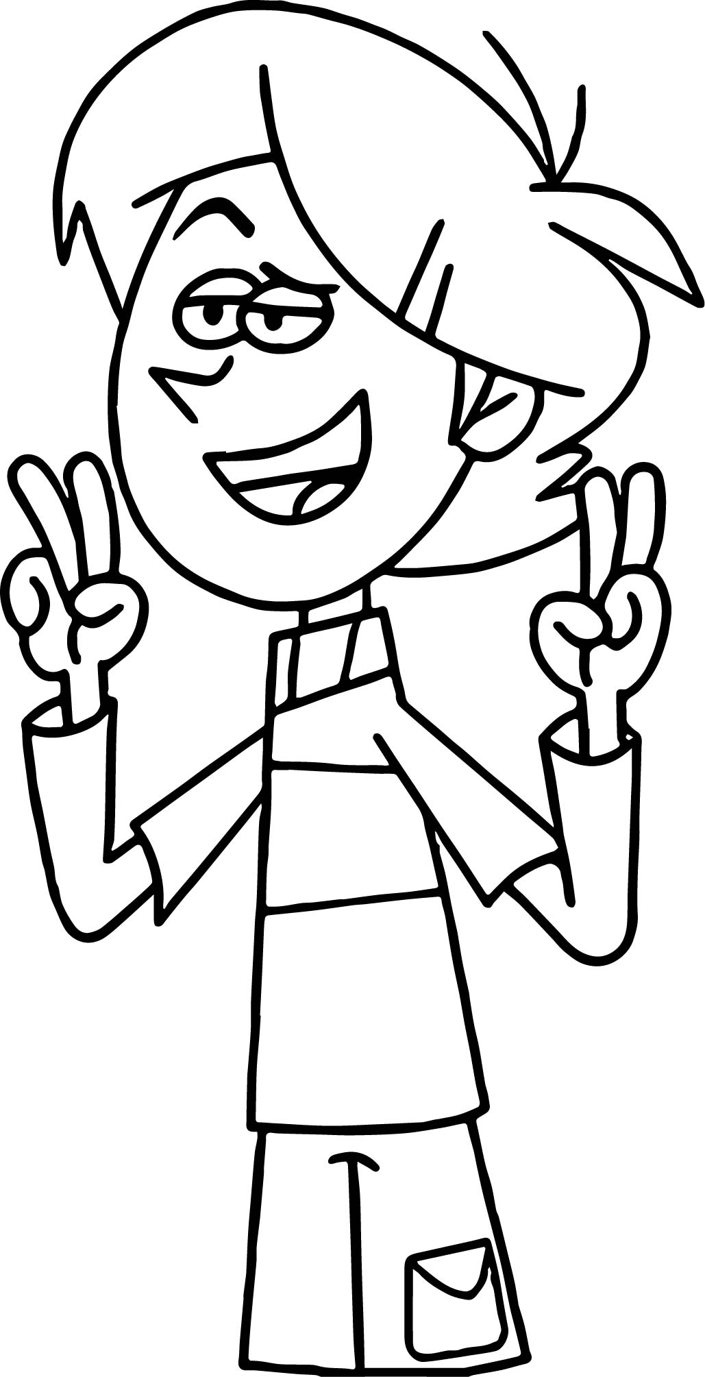 Tyler Alright Coloring Page