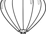 Up Air Balloon Coloring Page