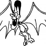 Vampire Bat Man Coloring Page