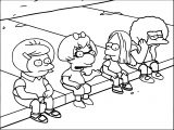 Wigsphere The Simpsons Coloring Page