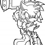 Wild Amy Rose Coloring Page