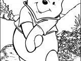 Winnie The Pooh Coloring Page