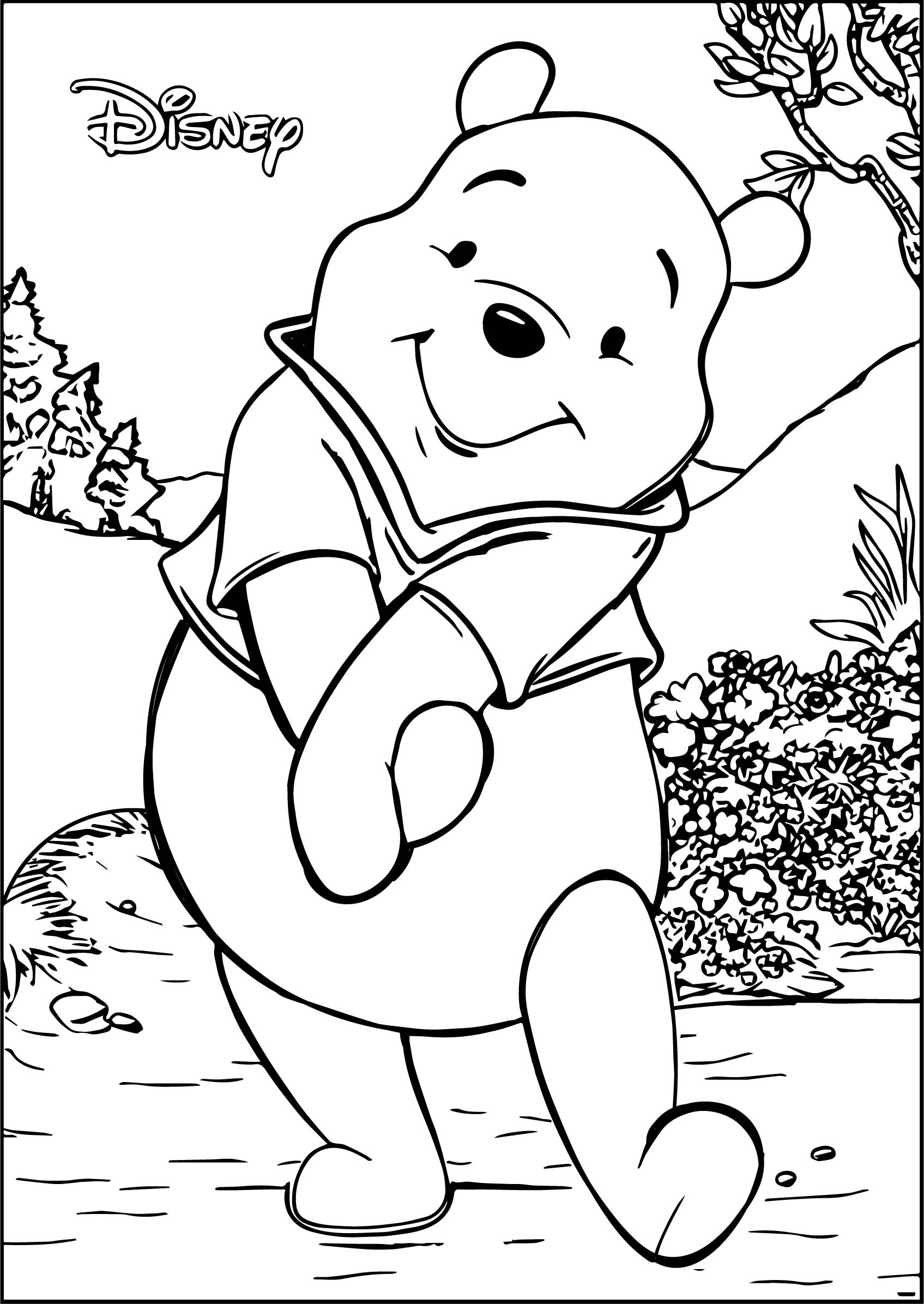 Winnie The Pooh Coloring Pages