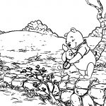 Winnie The Pooh Good Friends Coloring Page