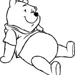 Winnie The Pooh Happy Rest Coloring Page