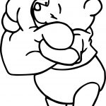 Winnie The Pooh Heart Pillow Coloring Page