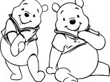 Winnie The Pooh Listening Coloring Page