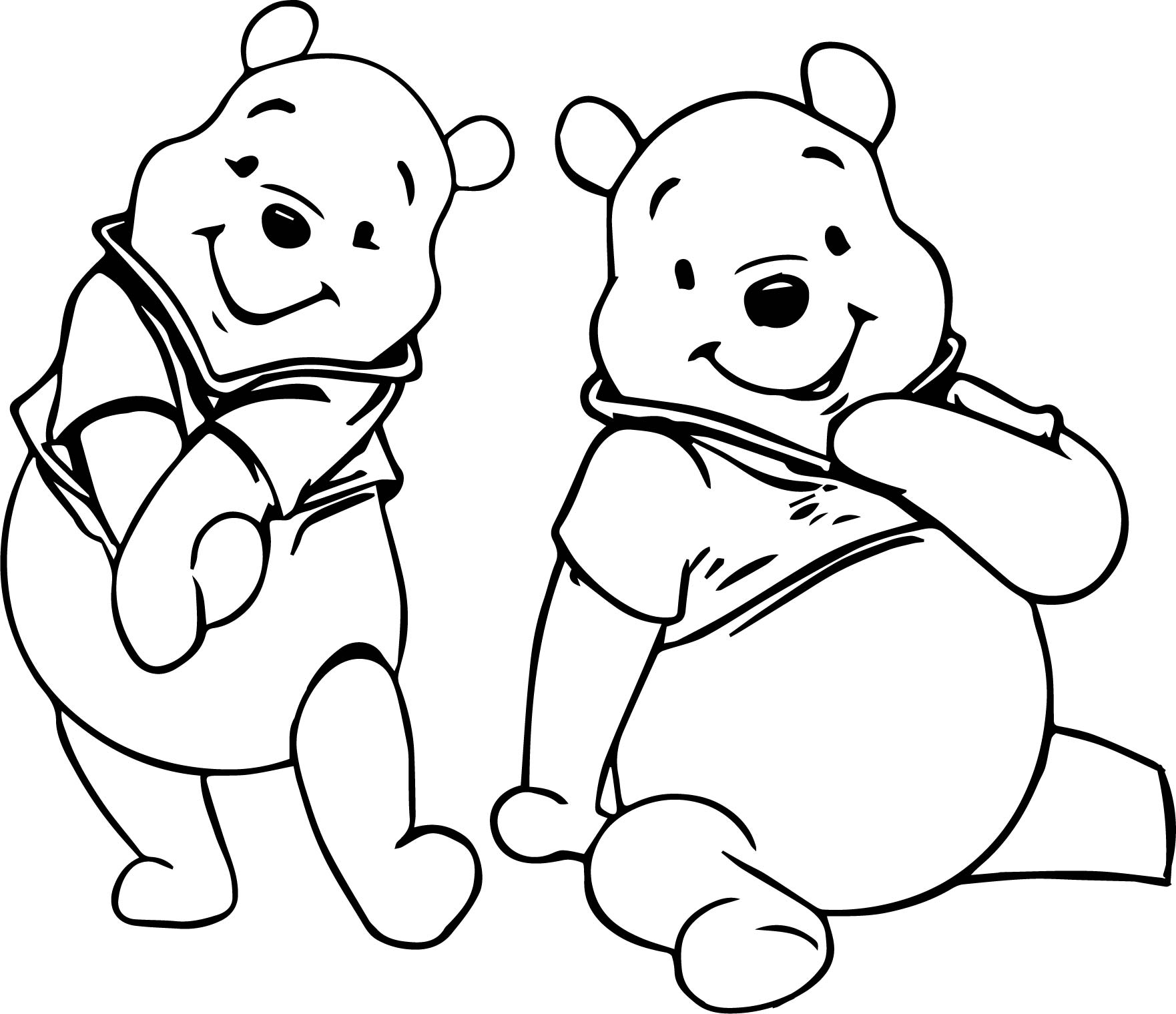 Cartoon Ear Listening Coloring Pages