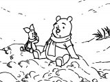 Winnie The Pooh Mountain Coloring Page