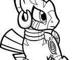 Zecora Battle Pose Coloring Page