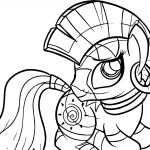 Zecora Cute Looking Coloring Page