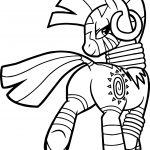 Zecora Going Coloring Page