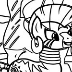 Zecora Image Coloring Page