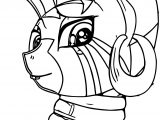 Zecora Looking Coloring Pages