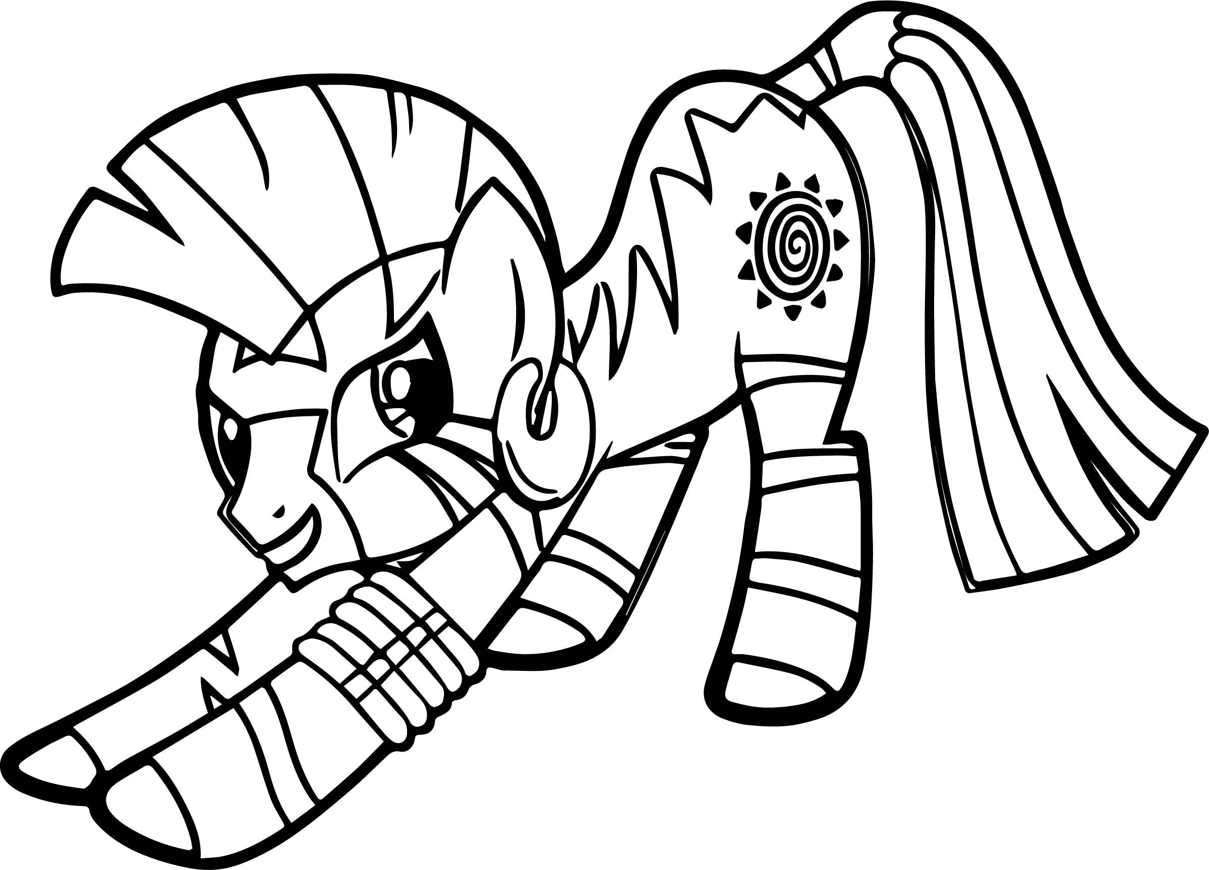 Zecora Lucky Coloring Page